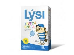 Lýsi - Omega 3 žvýkací kapsle pro děti s ovocnou příchutí 60 kapslí