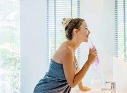 ORAL IRRIGATOR DEDRA DENT XXL ústní sprcha pro dokonalou hygienu dutiny ústní, dobíjecí