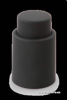 Flaškátor - vakuový uzávěr lahve černý