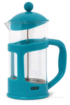 French press XL tyrkysový 1 litr