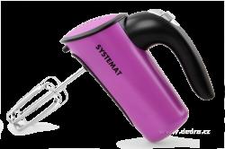 Celonerezový ruční turbošlehátor s fialovým lakem
