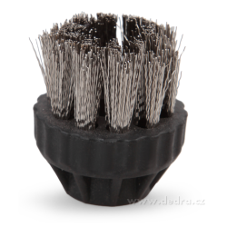 Kulatý kartáč ocel parní čistič PARDOM