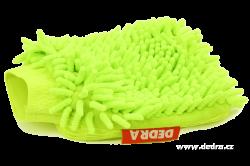 Sasanka - čistící rukavice zelená