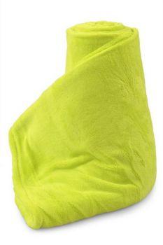 LAGOON přikrývka jasně zelená 150 x 200 cm