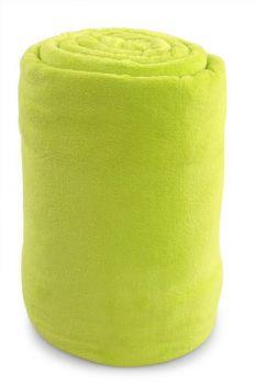 XXL LAGOON přehoz jasně zelený 200 x 230 cm