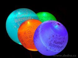 Nafukovací LED balónky