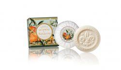 Ručně balená mýdla Amalfi Gelsomino e Mandarino 100 g