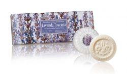 Ručně balená mýdla Lavanda Toscana 3x100 g