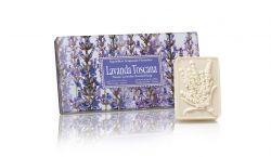 Ručně balená mýdla Lavanda Toscana 3x125 g
